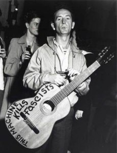 Woody Guthrie understood that an instrument or tool's power lay in the hands of the user.